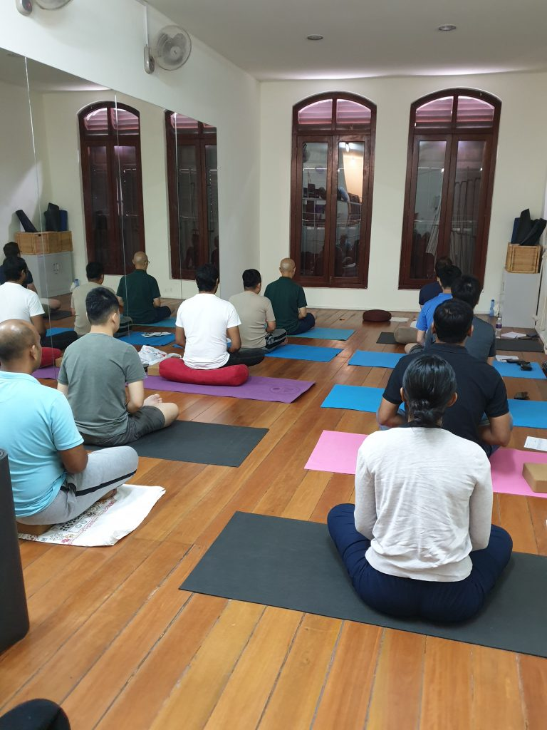 People meditating at Mediation Class - Xuan Healing Cove