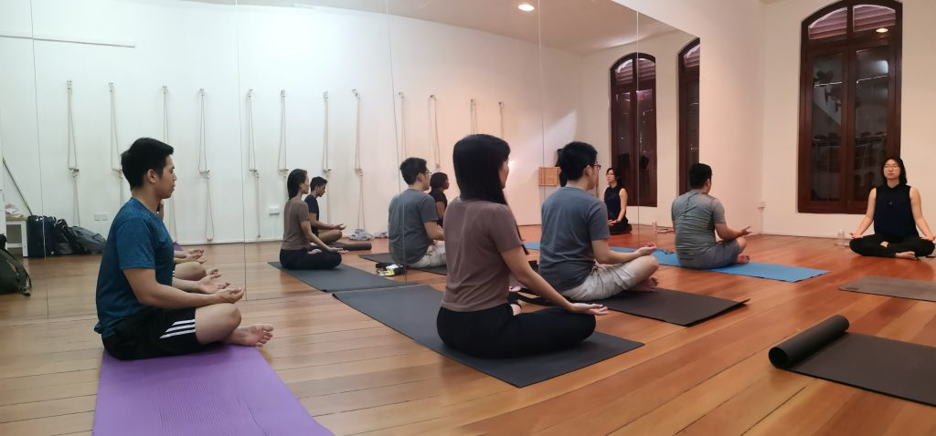 People enjoying and meditating at Mediation Class - Xuan Healing Cove