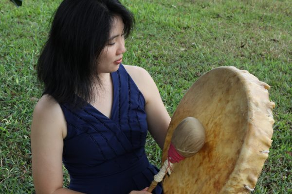 Shamanic Drum sound healer healing with a drum - Xuan Healing Cove