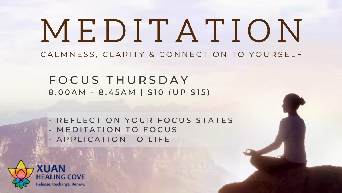 [Online] Focus Thursday Meditation: Better Focus, Higher Performance